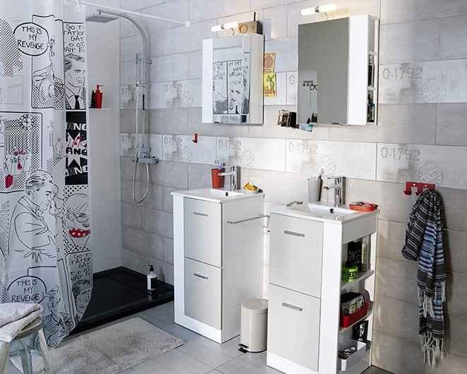 Modèles de salle de bains pour les jeunes