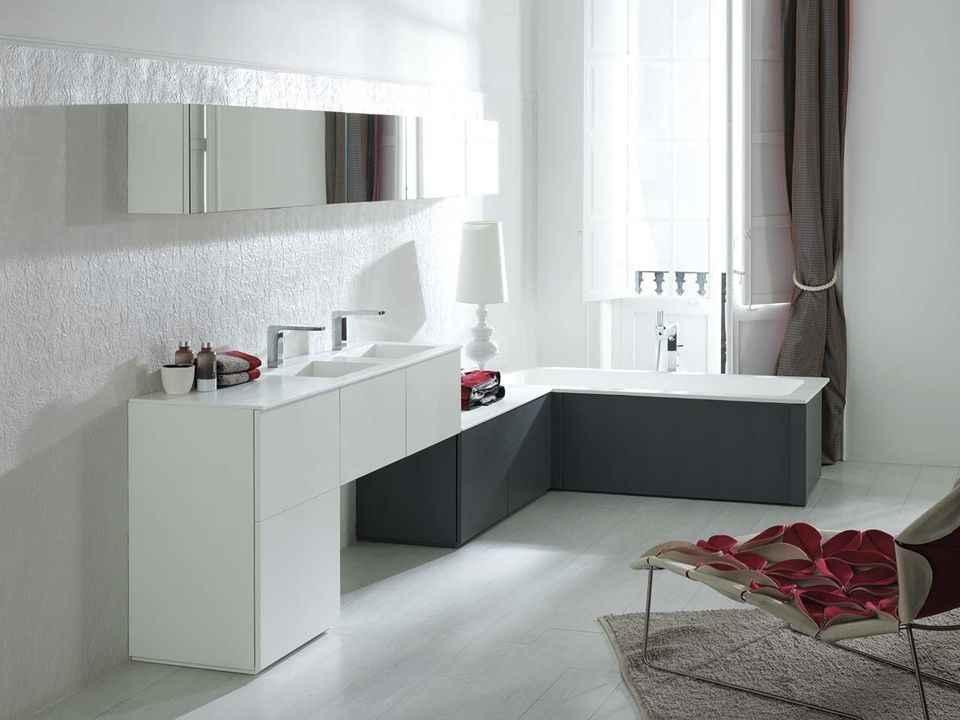 Modèles de salle de bains ultra contemporaines